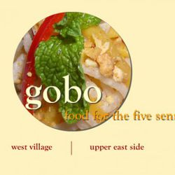 """<b>Gobo</b>: Most restaurants let you smell, taste and look at your food. But at Gobo, you also get to listen to, and feel your meal.  If you eat there enough, you also can experience the sixth sense, which is food ghosts. [<a href=""""http://www.goborestaur"""
