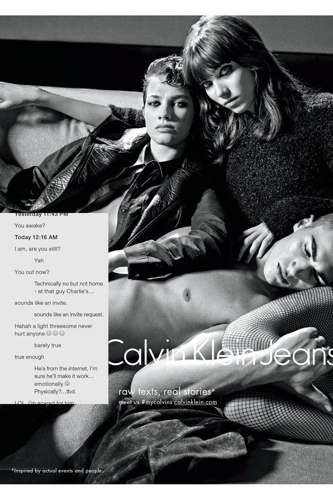 Calvin Klein Fall 2015 Ads
