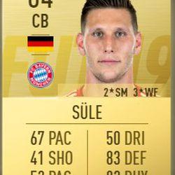 Niklas Süle in FIFA 2019