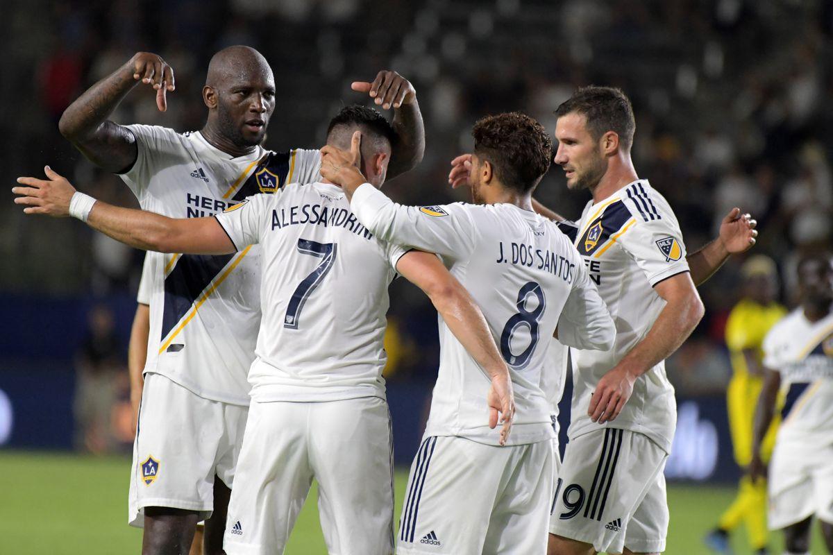 MLS: Columbus Crew at Los Angeles Galaxy