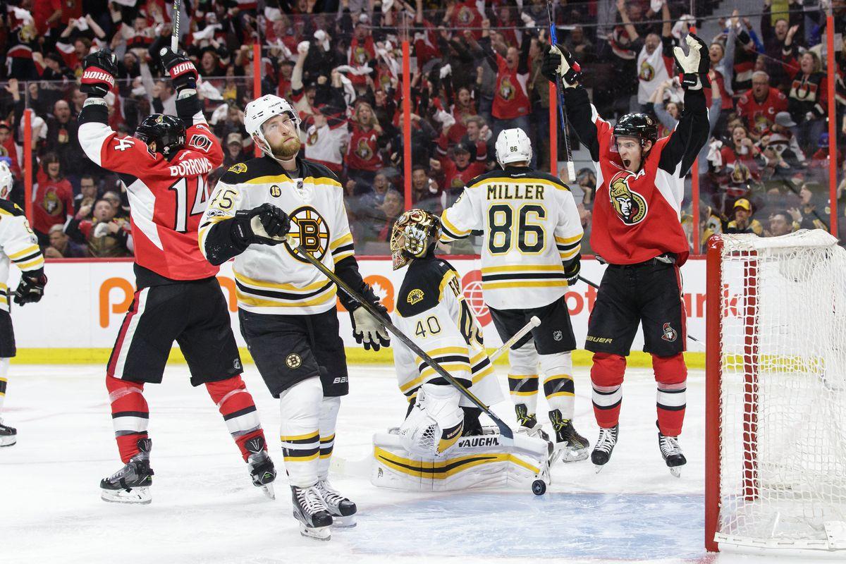 Boston Bruins v Ottawa Senators - Game Two