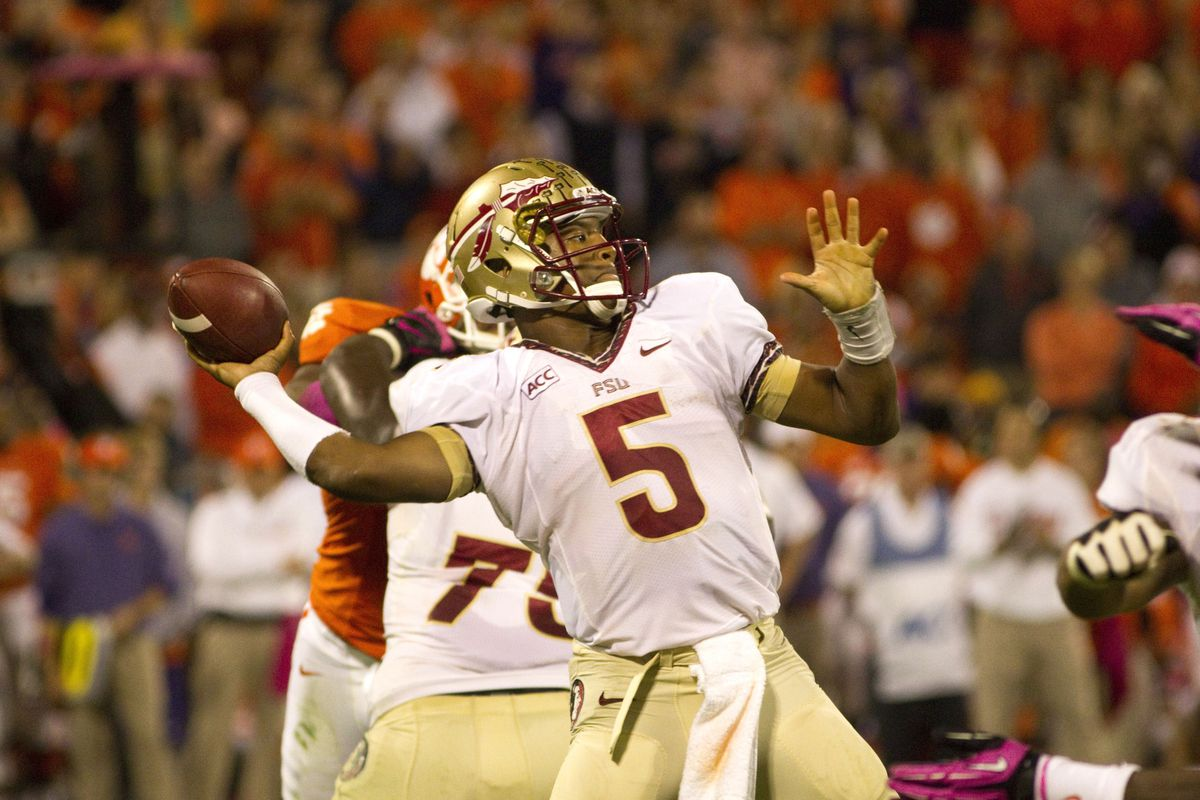 Jameis Winston is just a tad better than Connor Halliday.