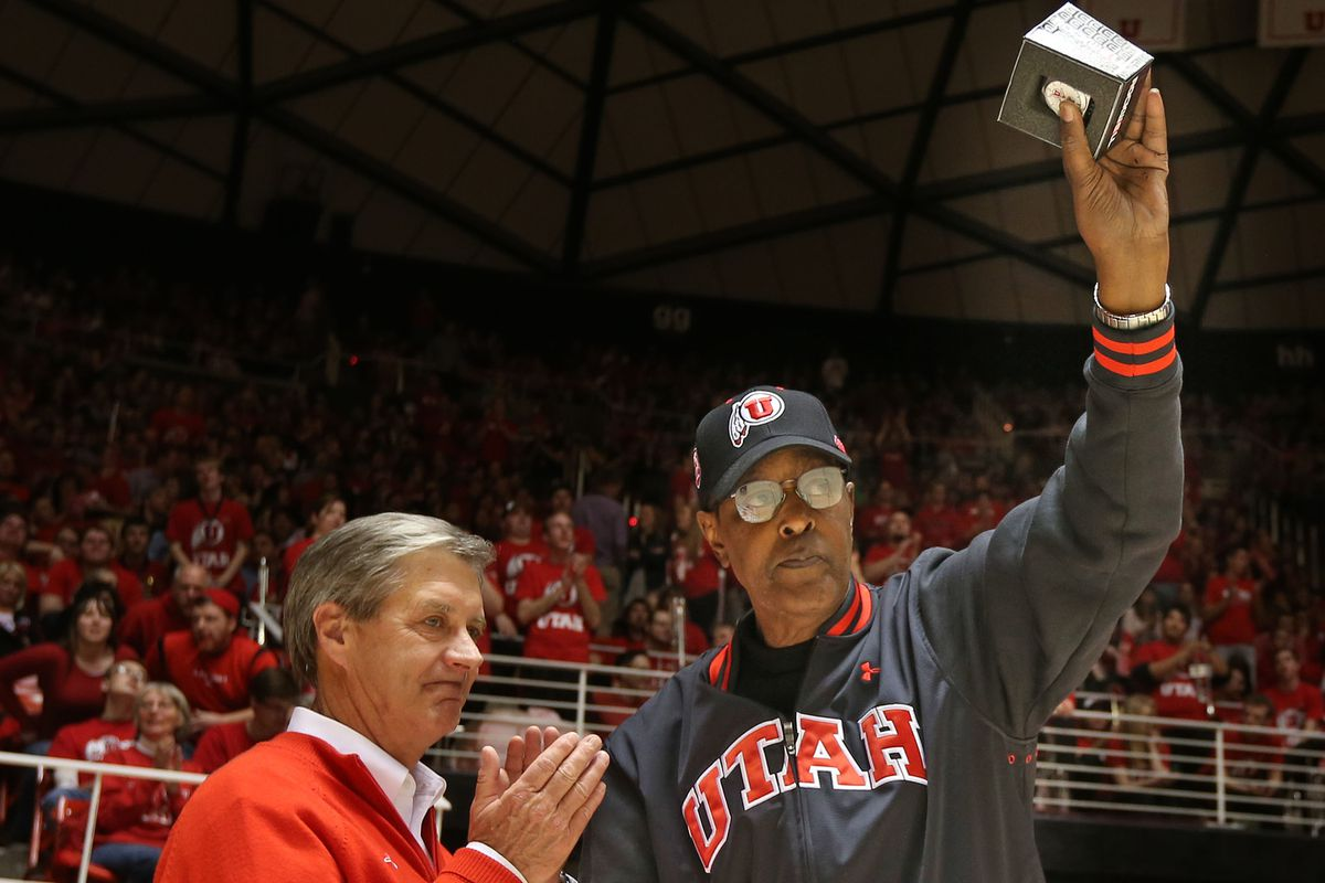 """Billy """"The Hill"""" McGill, who recently passed away at the age of 74, was named to Utah men's basketball's All Century Team in 2008"""