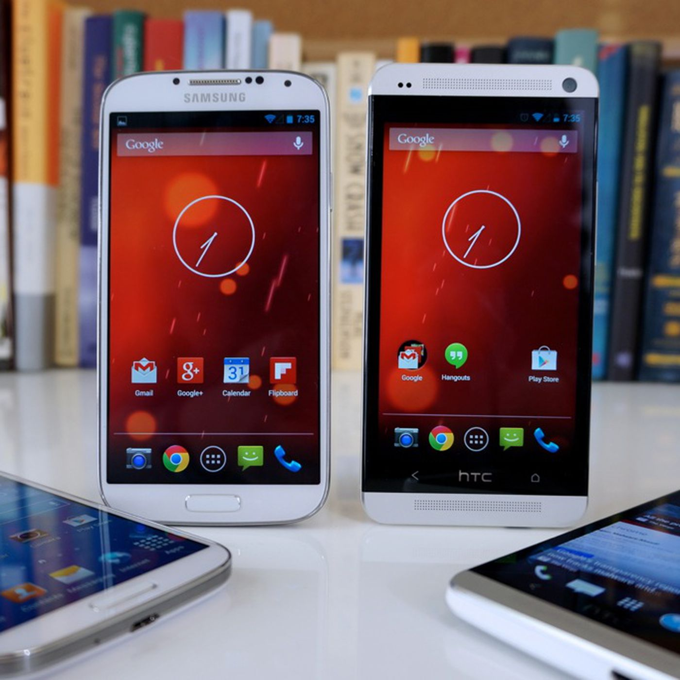 Pure Android: Samsung Galaxy S4 and HTC One 'Google Play editions
