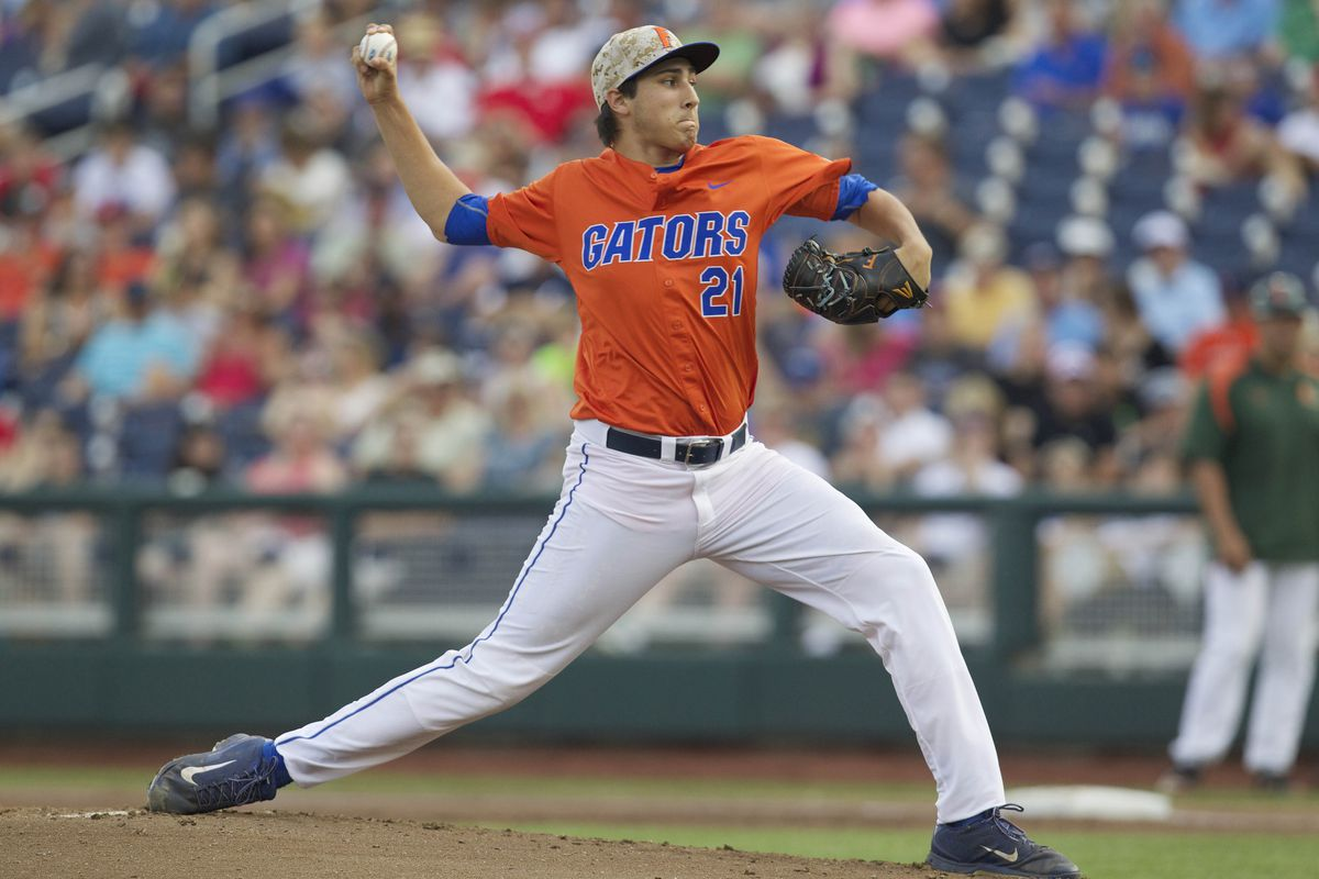 University of Florida's RHP Alex Faedo leads a strong class of college pitchers in the upcoming 2017 MLB Draft.