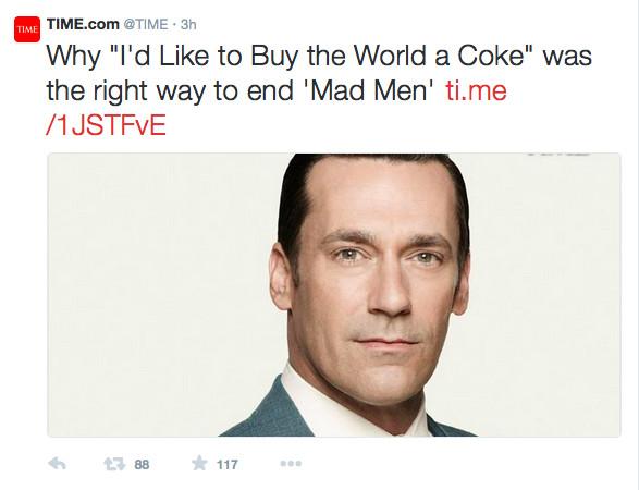 Mad men time