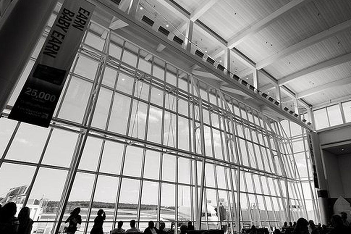 Terminal E at George Bush Intercontinental Airport.