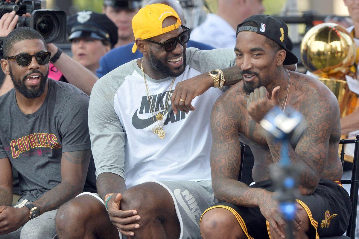 NBA: Cleveland Cavaliers-Championship Celebration