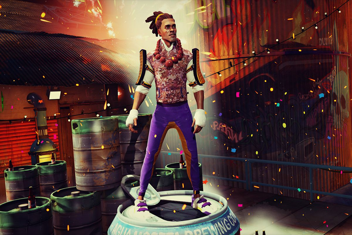 Sunset Overdrive S Reader Designed Character Comes To The Game This Week Polygon