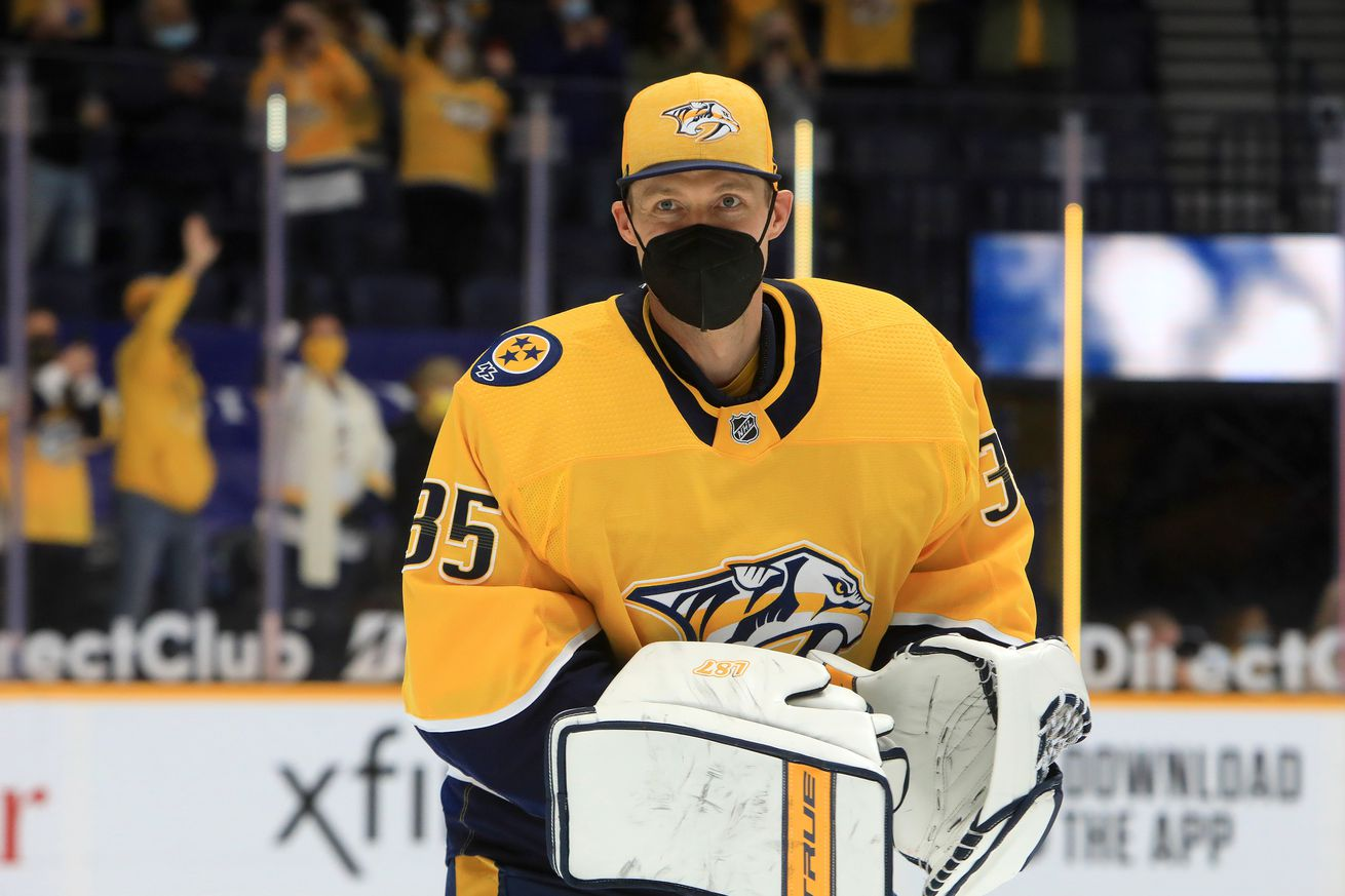 NHL: MAY 01 Stars at Predators