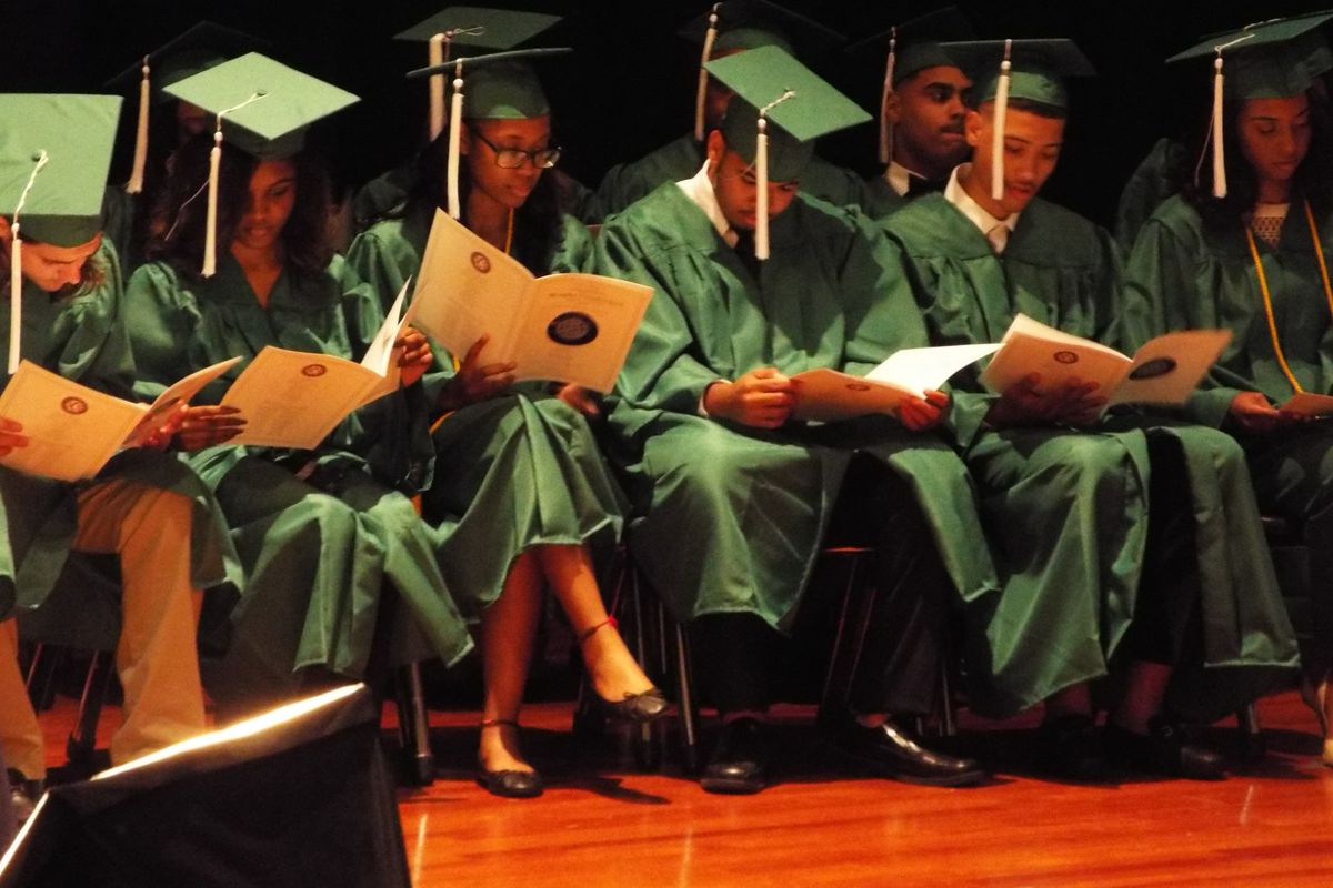 The 2018 spring graduation for the Memphis Virtual School was held May 22 in the Hamilton High School auditorium.