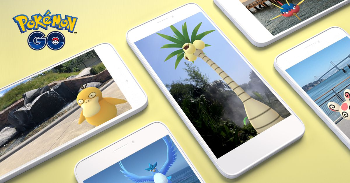Pokemon Go Gets an AR Boost on Android with ARCore Support