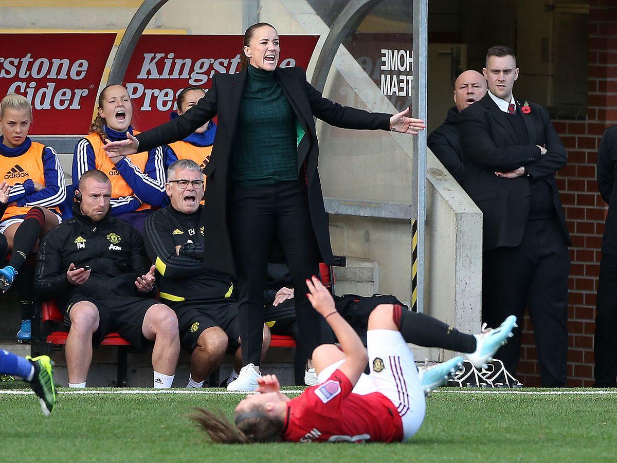 Manchester United v Reading - Barclays FA Women's Super League