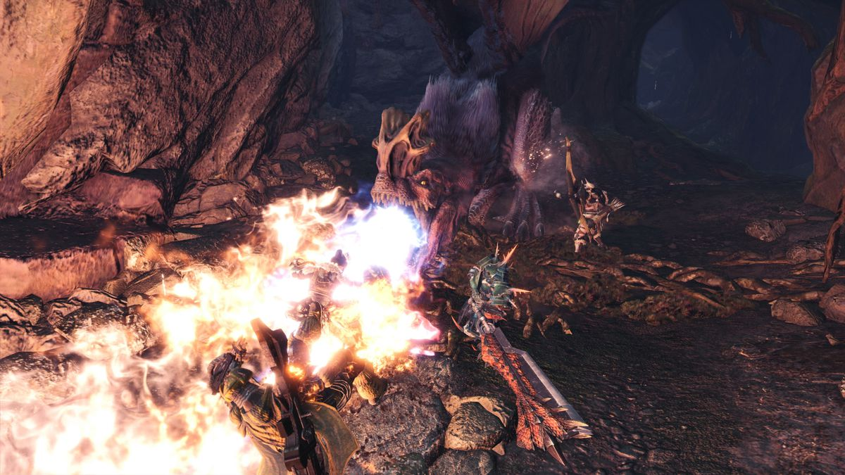 Anjanath Monster Hunter World
