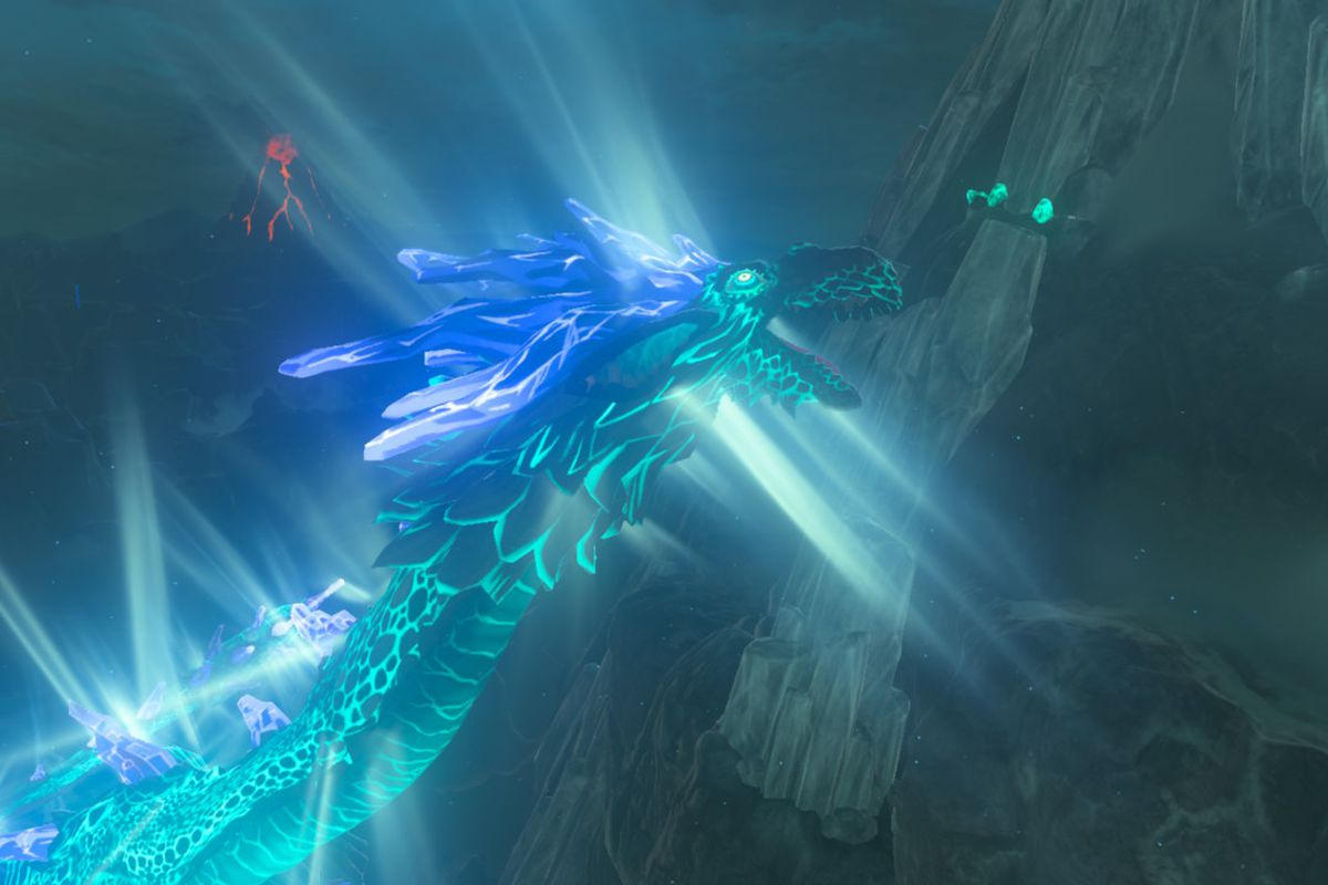 Breath of the Wild dragon locations for Naydra, Dinraal and Farosh