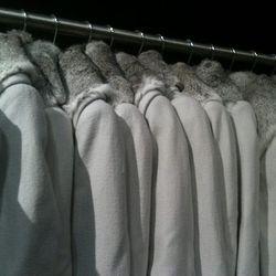 Helmut fur-trimmed jackets