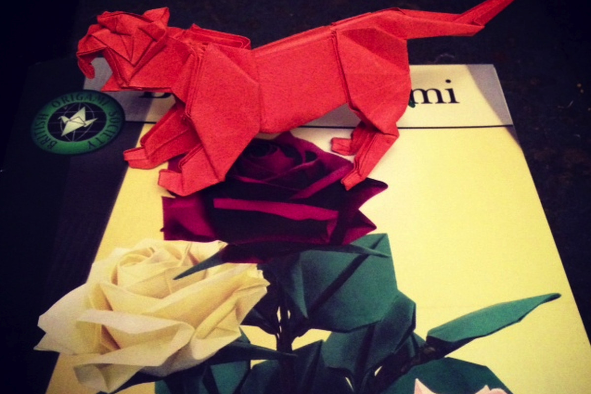 Ken Liu Origami