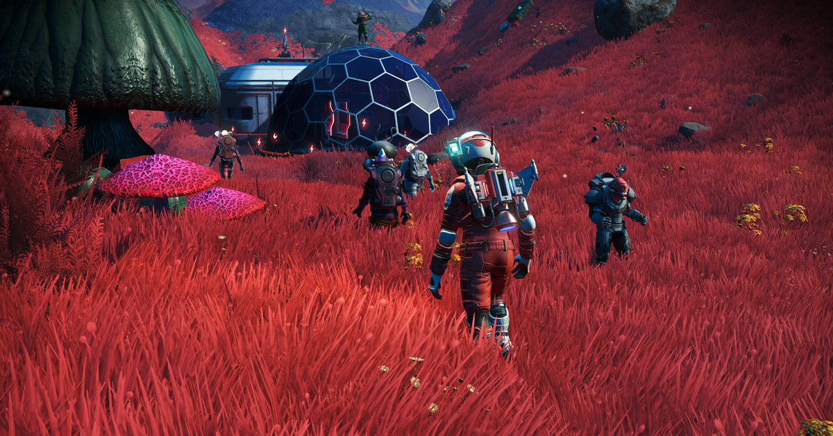 No Man's Sky's latest update, Expeditions, arrives today