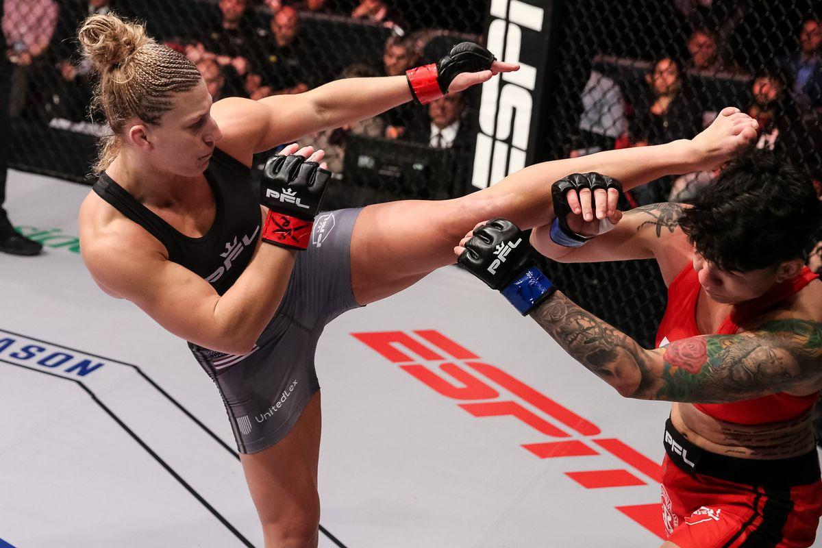 Kayla Harrison PFL Cris Cyborg UFC MMA News
