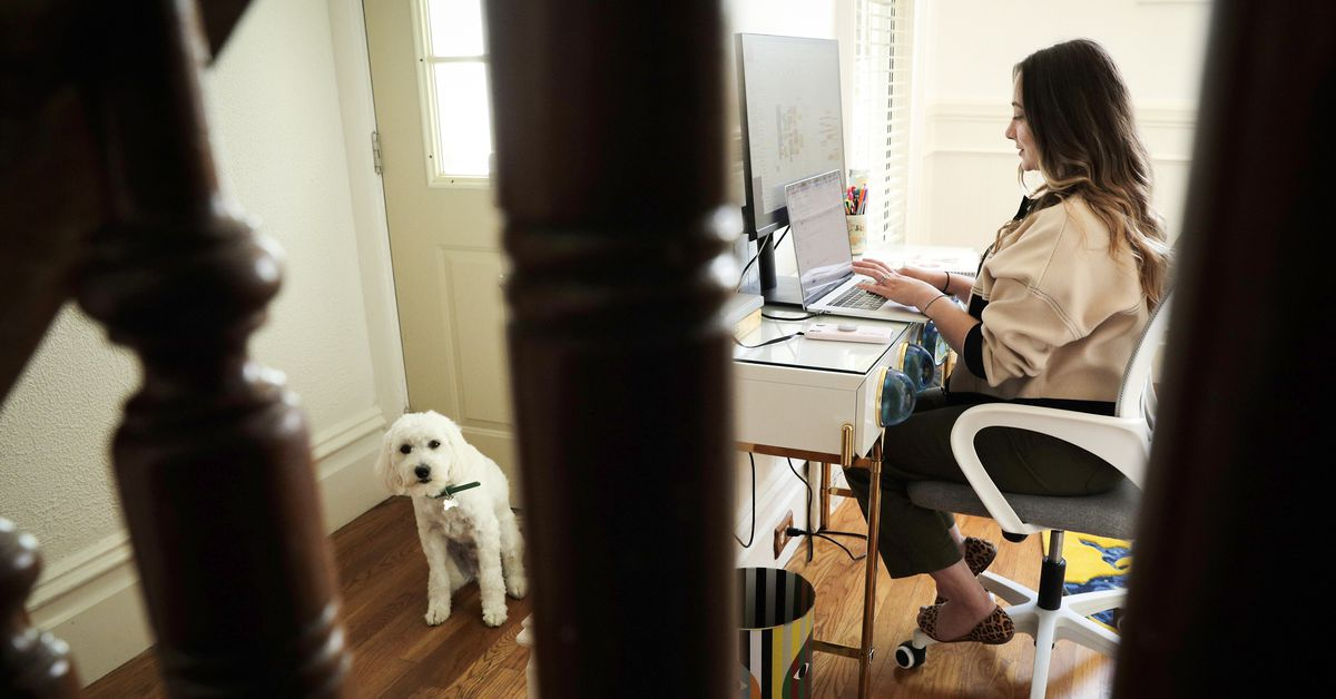 Many people don't want to work unless it's from home