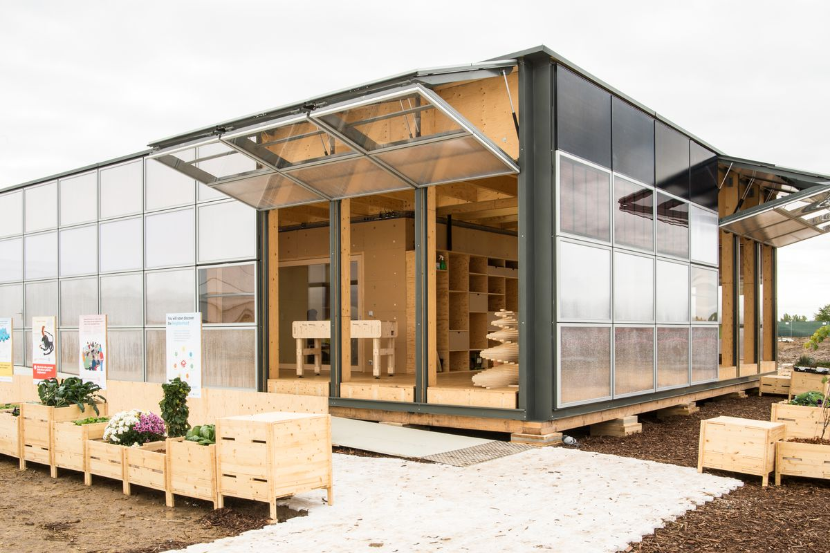 Solar decathlon 2017 inside 11 sustainable homes curbed for Solar homes