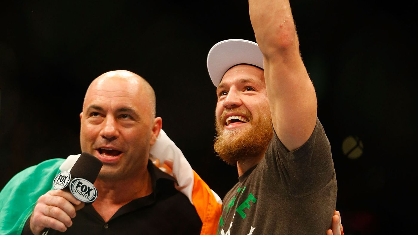 Joe Rogan fires back at Conor McGregor — 'I bet he likes my commentary when he wins'