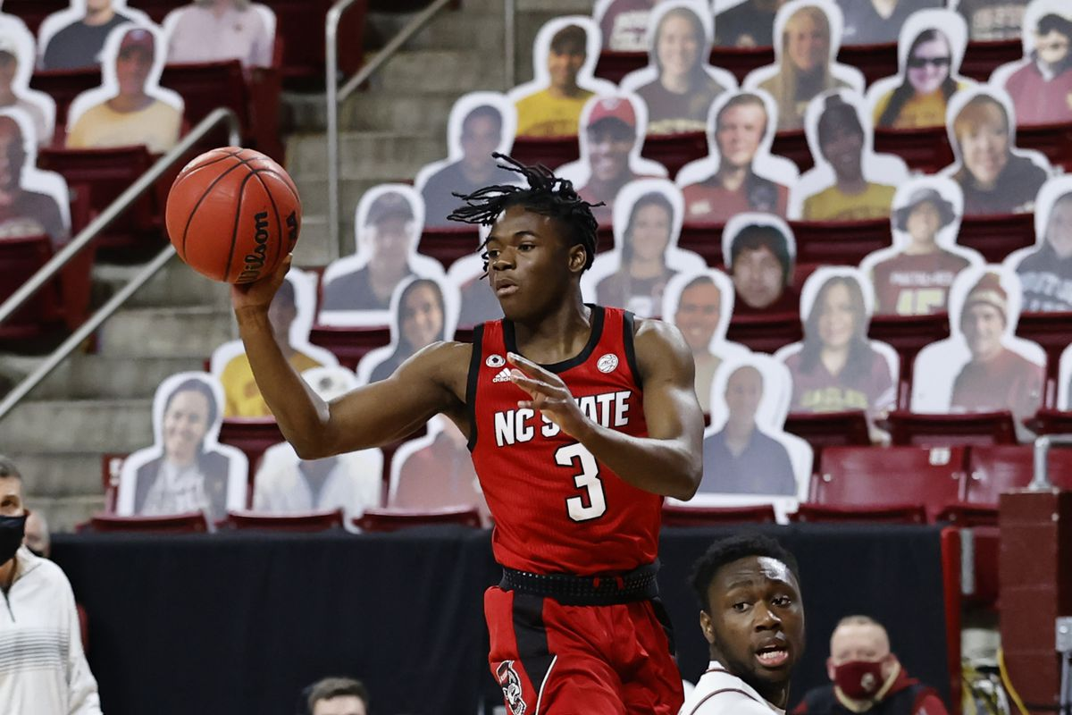COLLEGE BASKETBALL: FEB 06 NC State at Boston College