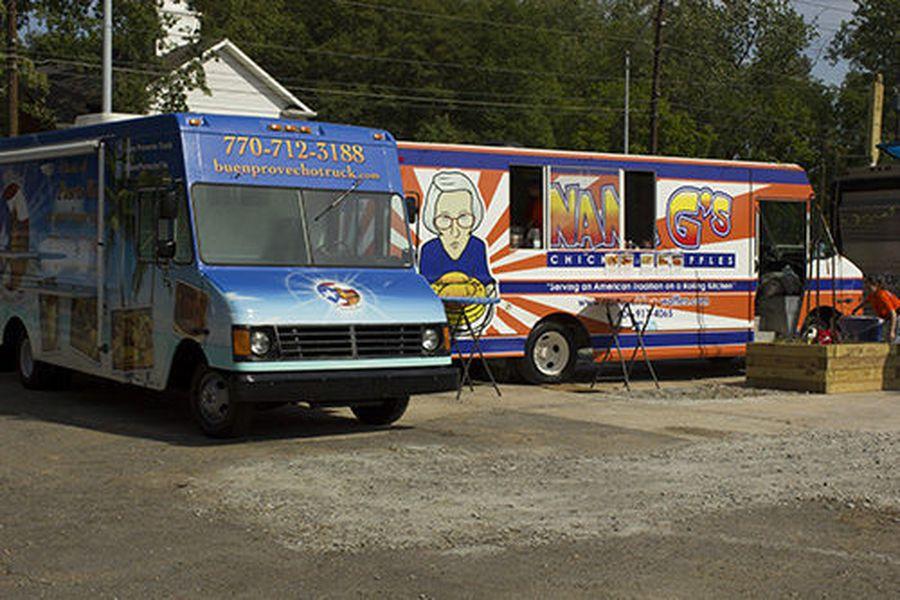 Food Trucks At Charleston Night Market