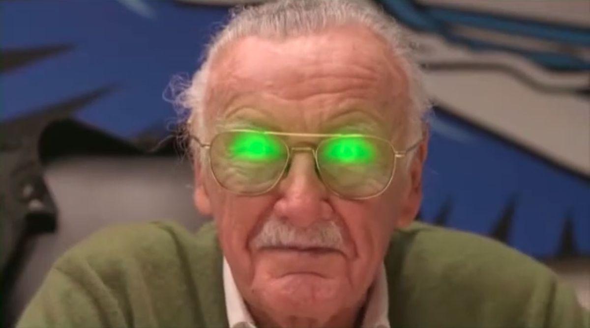 Stan Lee in Return to Nuke 'Em High Volume 1 (2013)