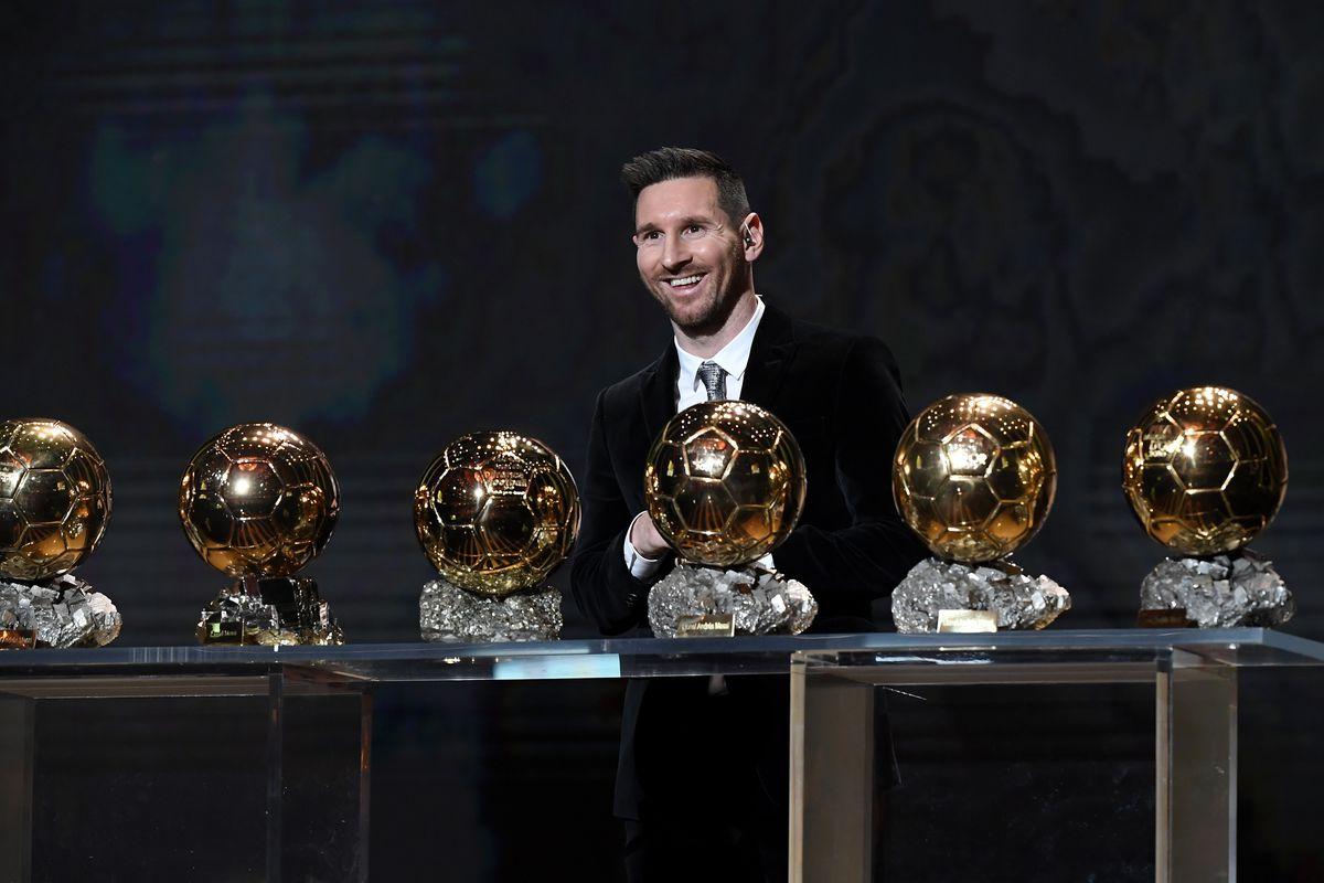 Leo Messi- Ballon D'Or Ceremony At Theatre Du Chatelet : Inside Ceremony In Paris