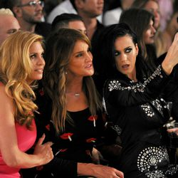 Katy Perry taking a selfie with Caitlyn Jenner.