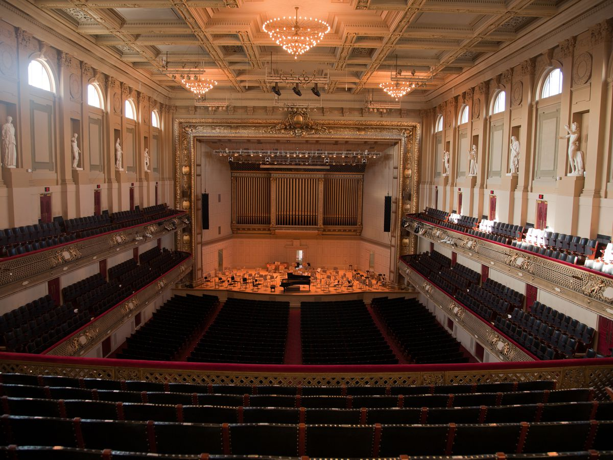 Symphony Hall Joseph Sohm Shutterstock