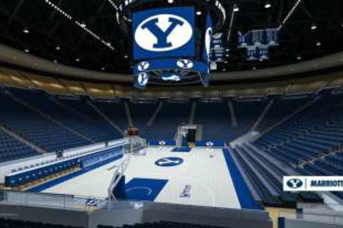 As Marriott Center gets new look, BYU basketball undergoes