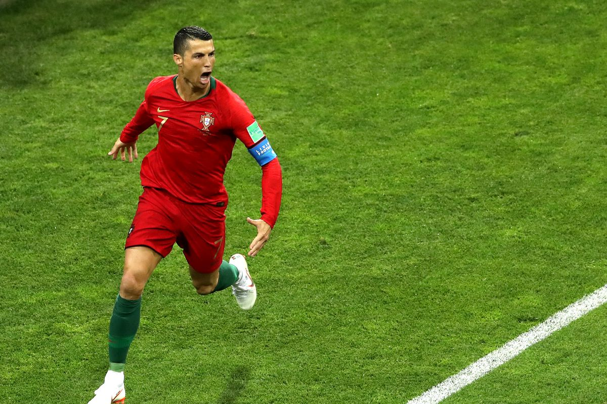 81276cd1574 FINAL SCORE — SPAIN 3 - PORTUGAL 3. Cristiano Ronaldo turned in ...