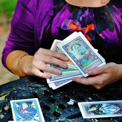 """<b><a href=""""https://www.facebook.com/pages/Queen-Of-Wands-Tarot/243135099128854?fref=photo"""">Tarot Card Readings</a> from Queen of Wands Tarot</b><br> Jenna Matlin has decades of experience and a MS in Organizational Psychology under her belt, but the cla"""