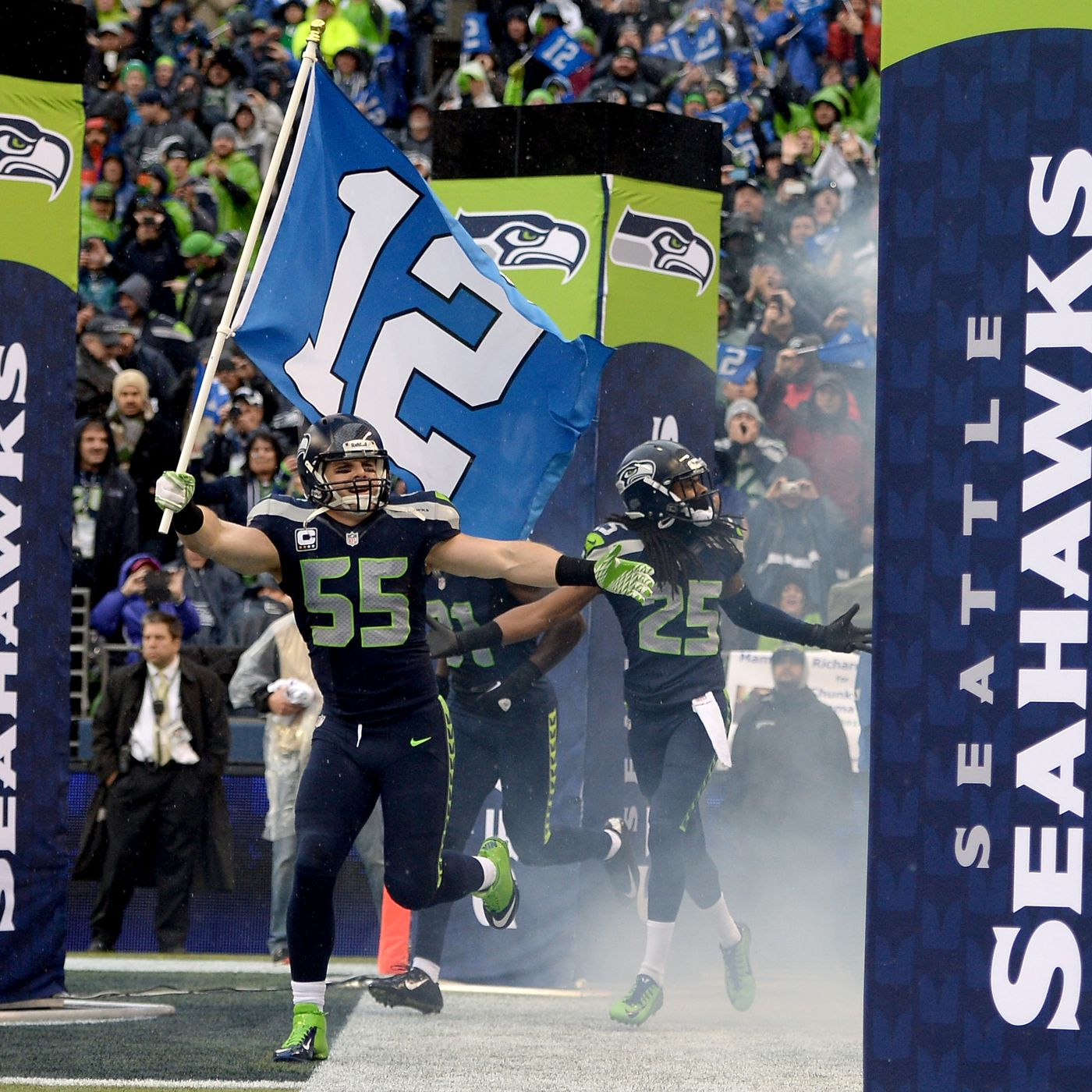 Seahawks History Of The 12th Man A History On The Browns