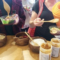 Sambazon's toppings made the DIY experience that much more yummy.
