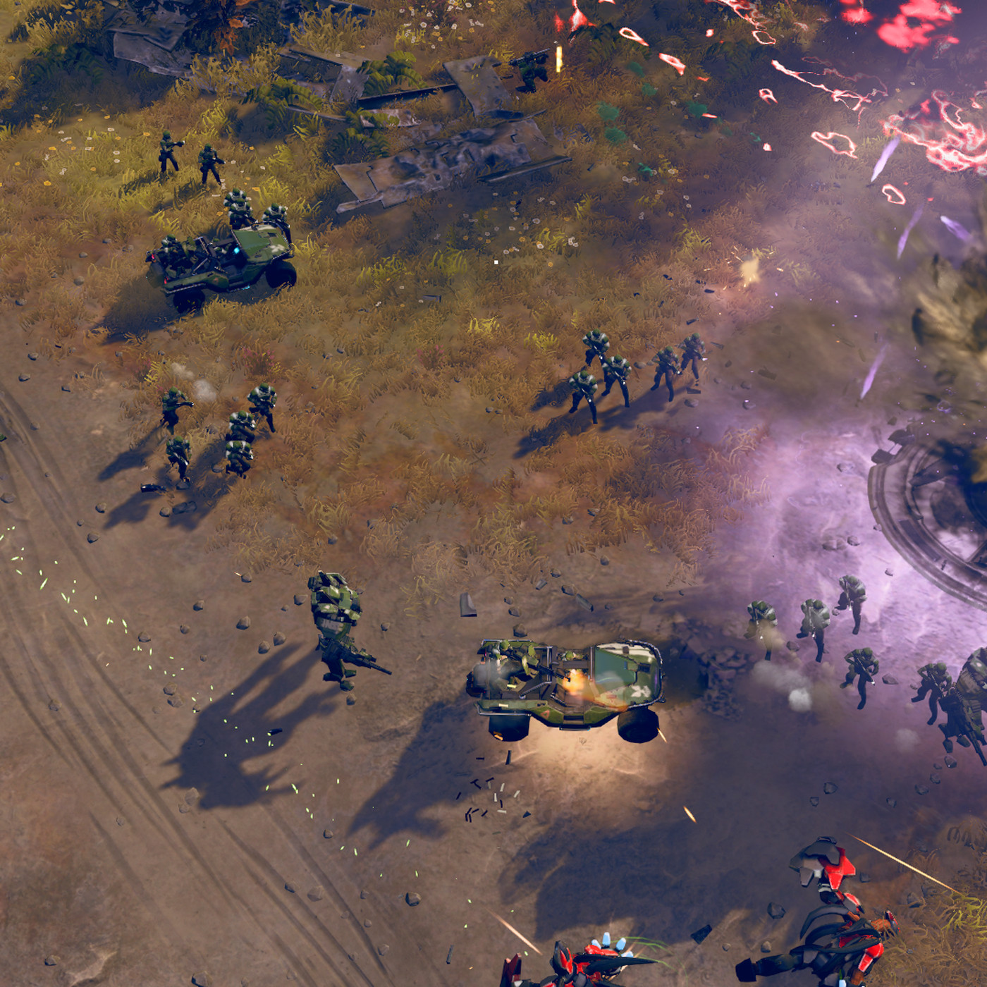 Halo Wars 2 is a real-time strategy game caught between