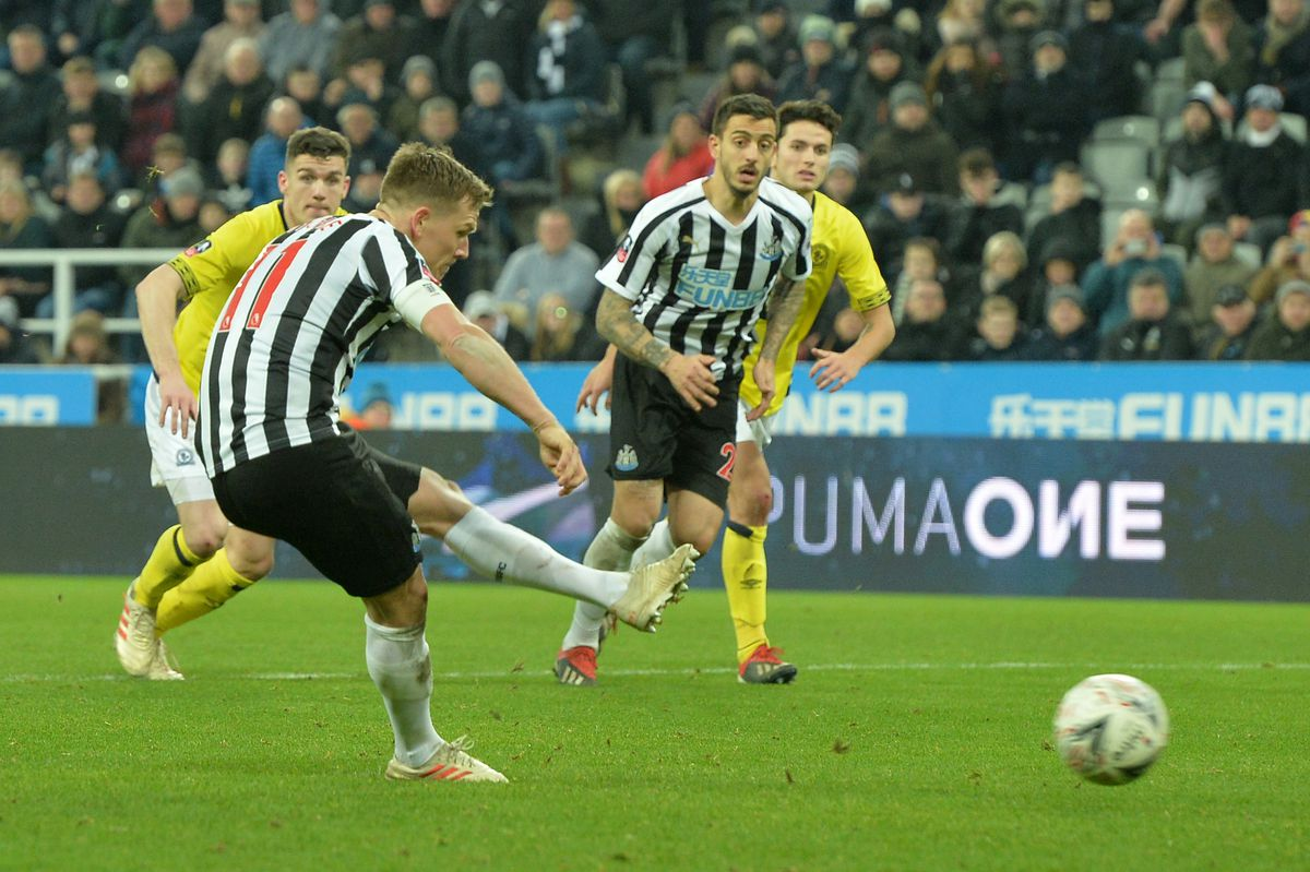 Newcastle United v Blackburn Rovers - The Emirates FA Cup Third Round