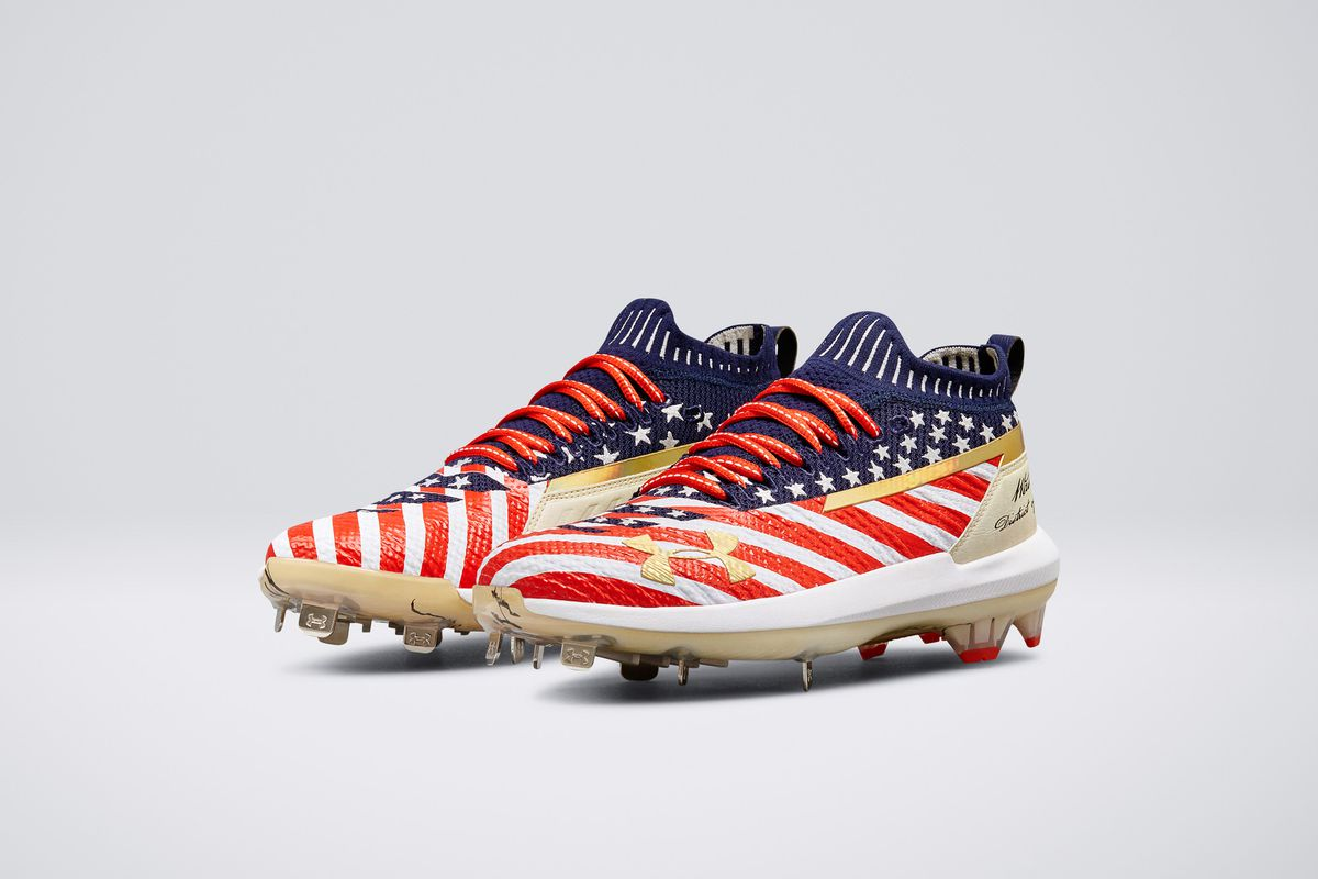 39cb94adb88 Bryce Harper will wear D.C. themed cleats for the Home Run Derby and  All-Star Game