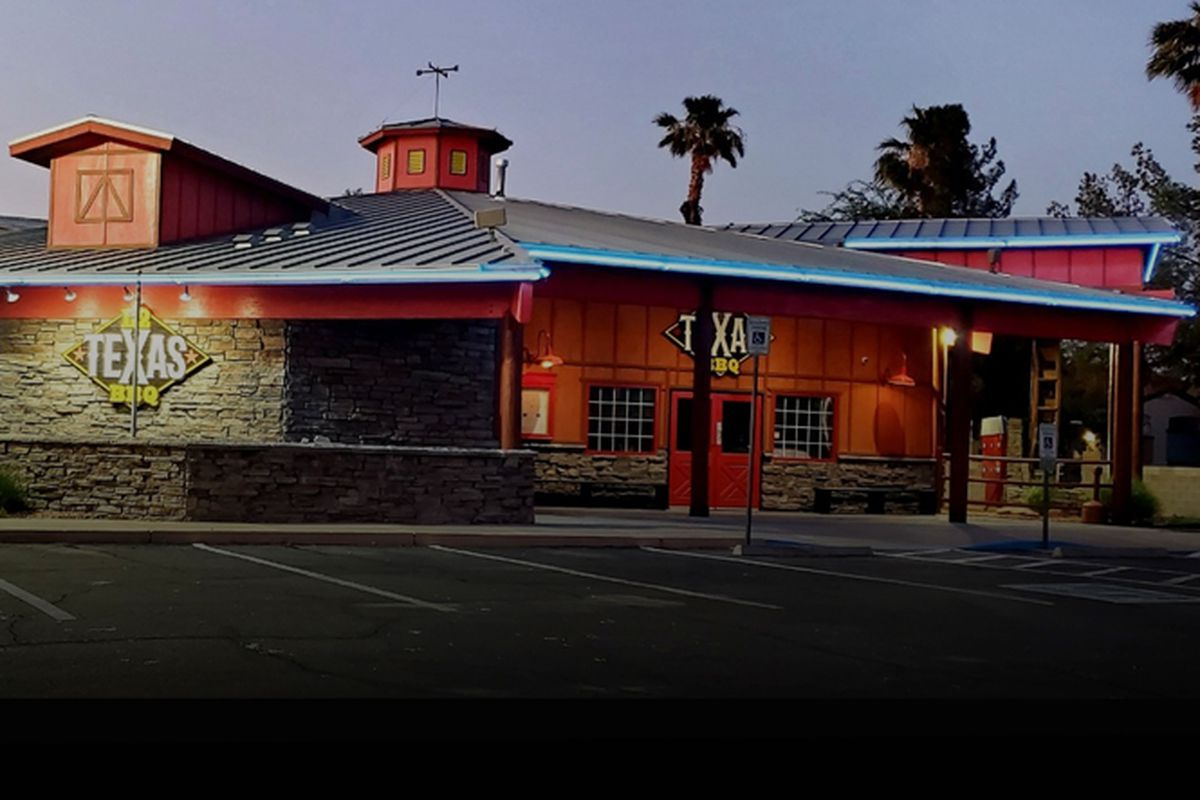 The exterior of L2 Texas BBQ in teh southeast, soon to debut a Texas-inspired barbecue menu.