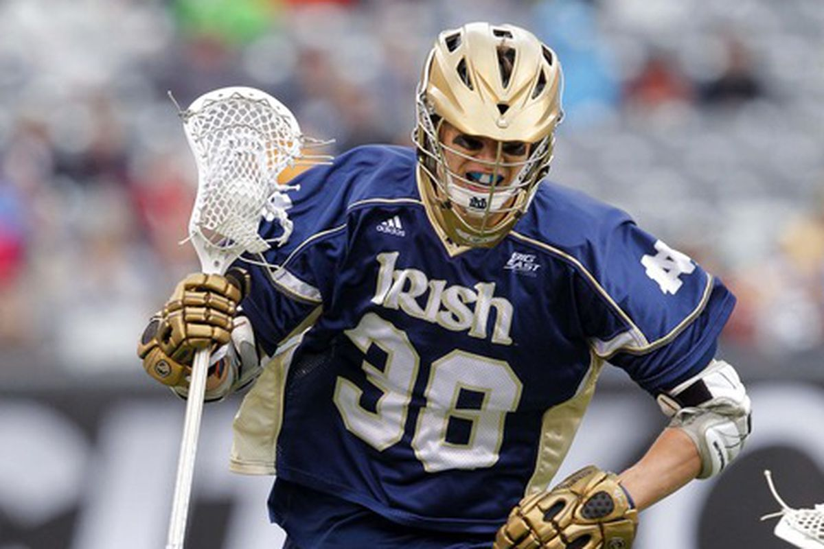 Notre Dame lacrosse is now up and running. The men beat Jacksonville in their season opener.