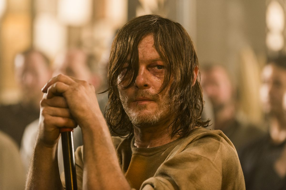 The walking dead season 7 episode 7 sing me a song is an daryl getting jesus ier by the episode gene pageamc ccuart Image collections