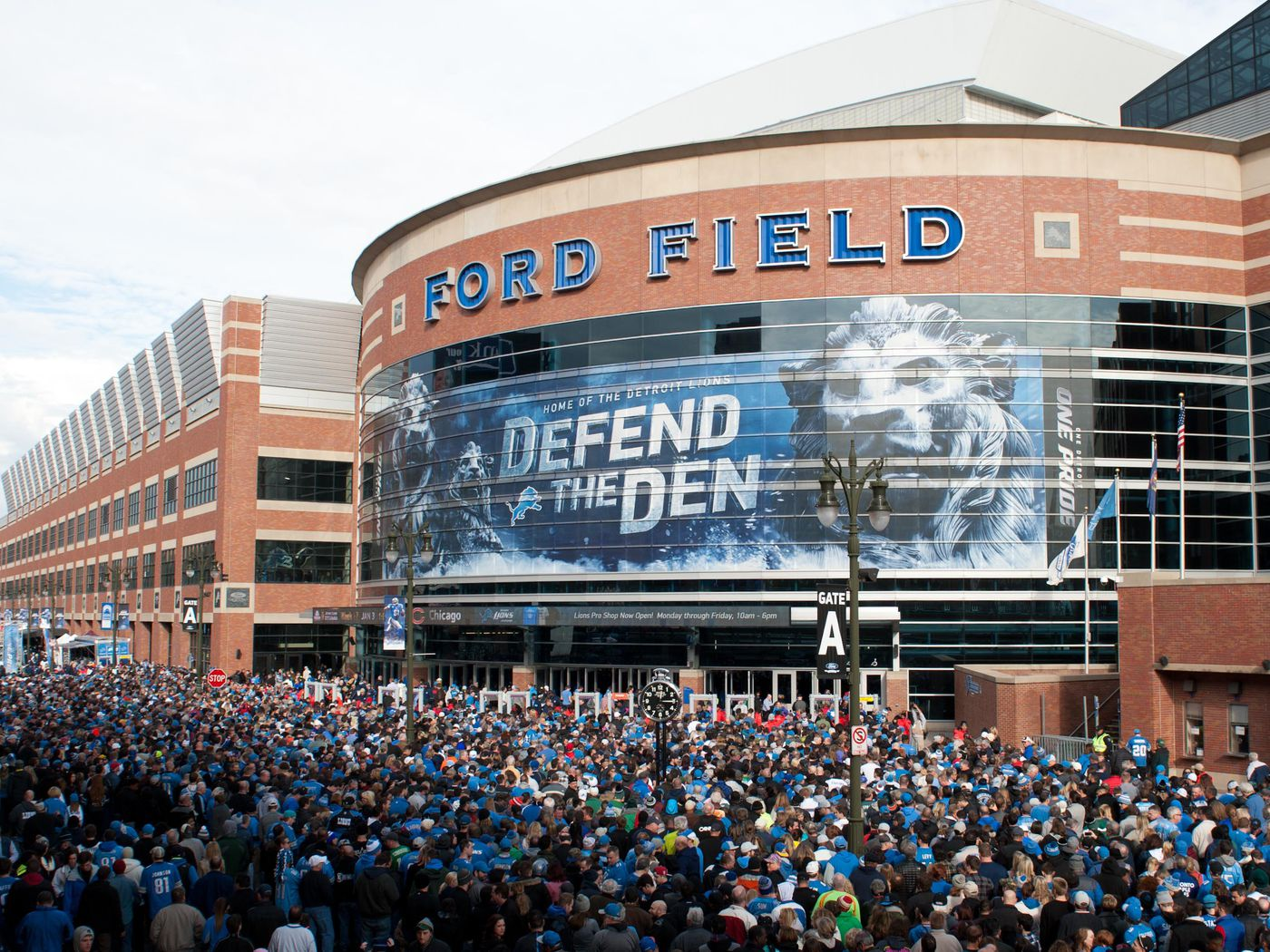 Could The Detroit Lions Next Stadium Be Outdoors Pride Of Detroit