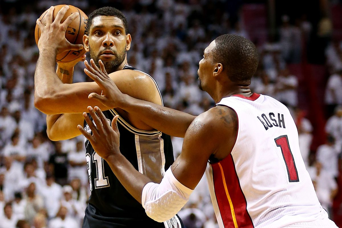 Tim Duncan's part in Miami Heat's history - Hot Hot Hoops