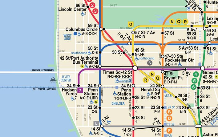 Number 7 Subway Map.7 Train Extension To Hudson Yards Finally Welcomes Riders Curbed Ny