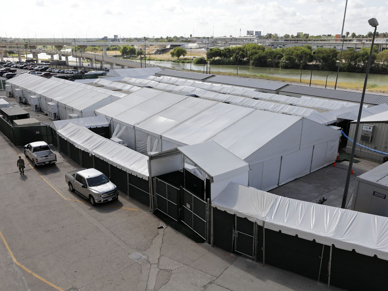 Tent courtrooms are set to open on the border. Can they solve America's immigration crisis?