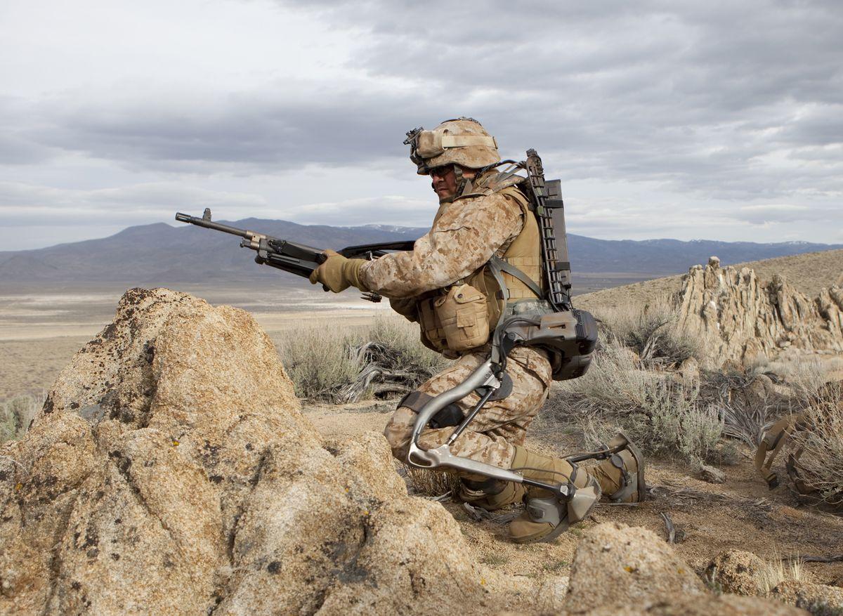HULC exoskeleton