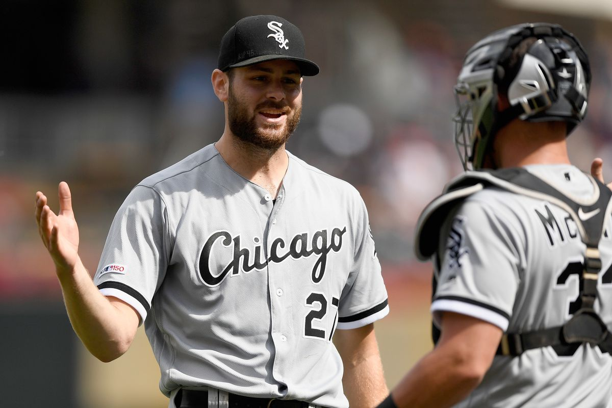 """""""With Covid kind of back on the rise in [some] states it's going to be imperative that as players we do everything we can do away from the field,"""" White Sox pitcher Lucas Giolito said. """"Practice social distancing, stay safe, not exposing ourselves to any risk at all in the sense of going out somewhere or being around a lot of people."""""""