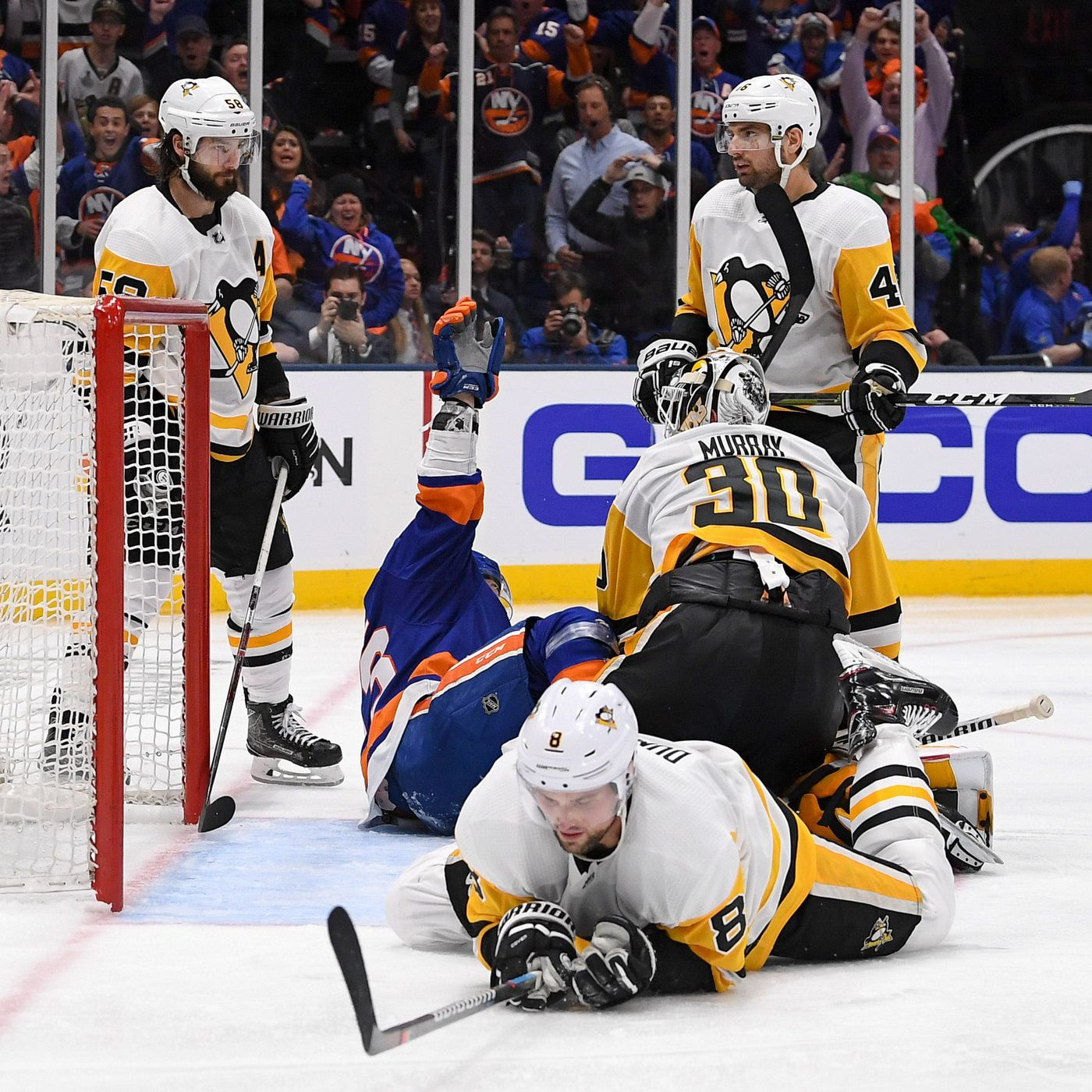 93ca85edb51 Defenseman Brian Dumoulin stumbles in return to Pittsburgh Penguins lineup